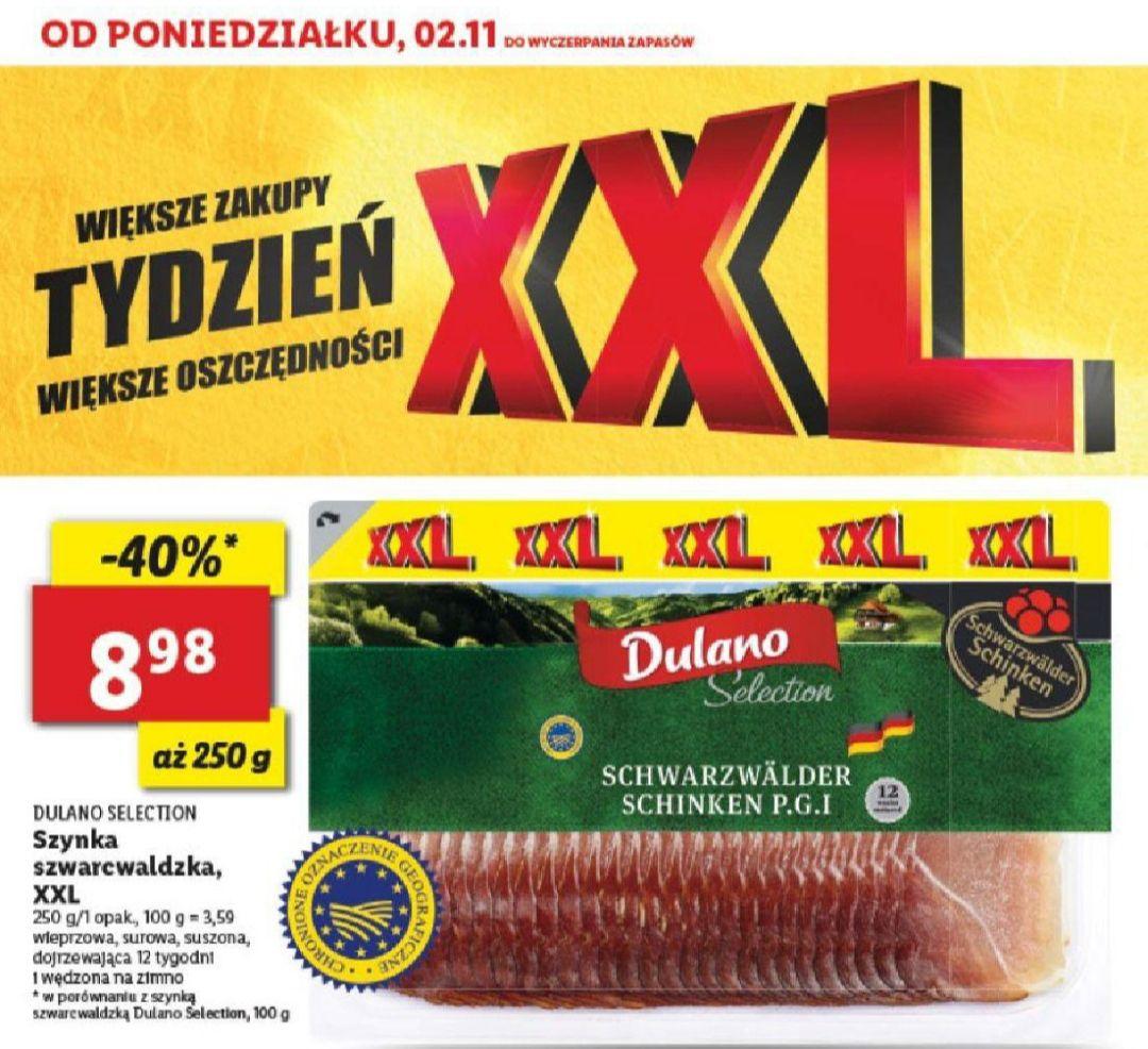 Szynka Szwarcwaldzka 250 gramów. 8.99. Lidl