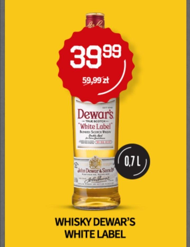 Duży Ben Whisky Dewar's White Label 0,7l I inne