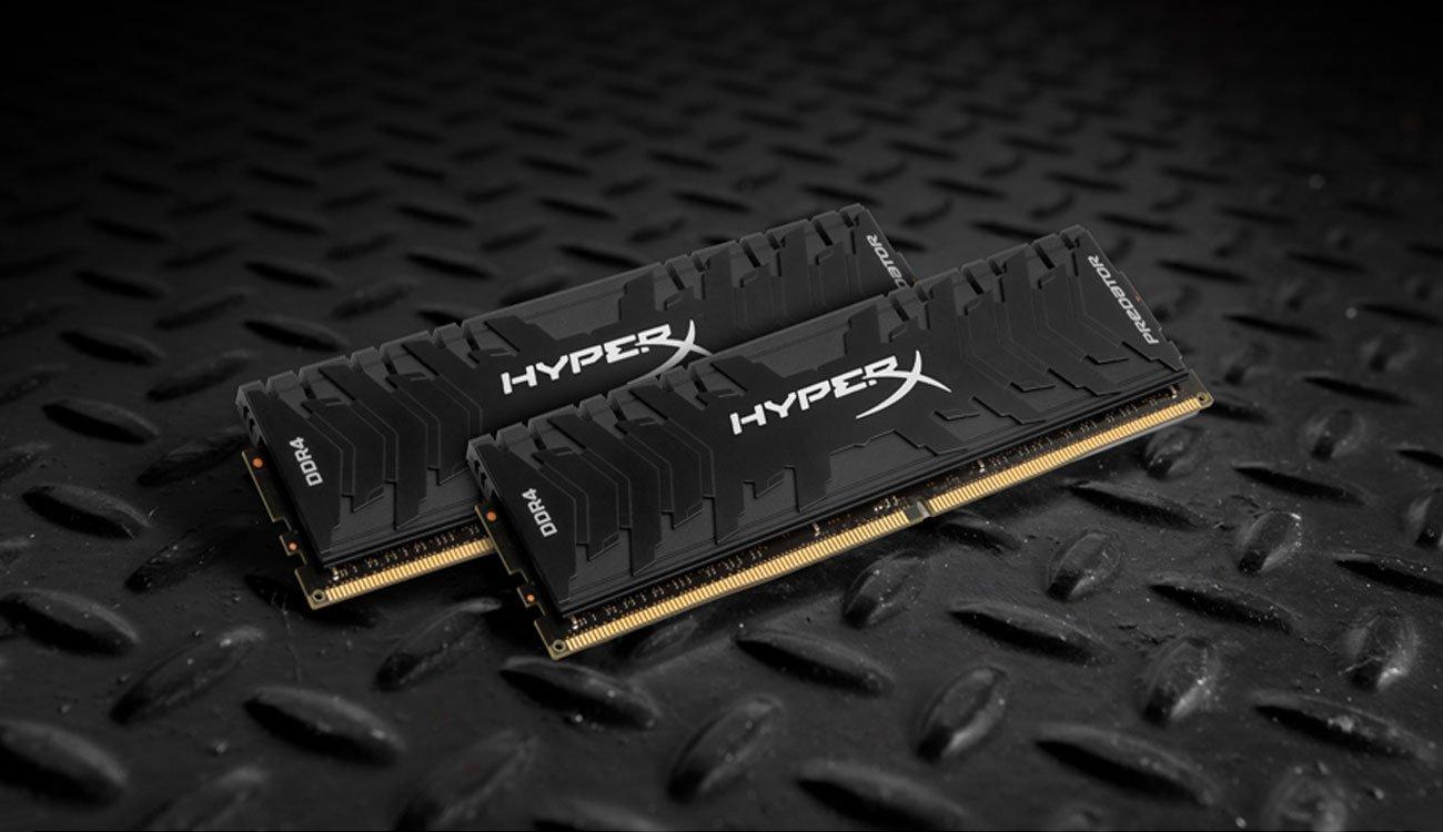 HyperX 16GB (2x8GB) 3200MHz CL16 Predator Black pamięć RAM