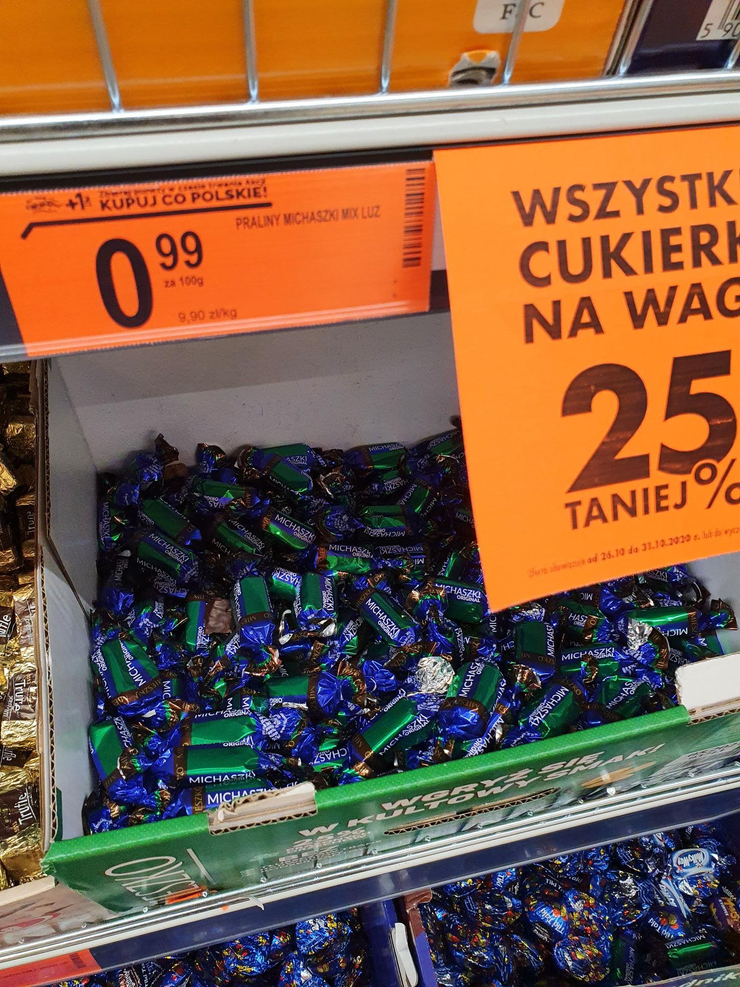 Cukierki Michaszki ORIGINAL z Mieszko w Biedronka - Halloween