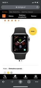 Apple Watch Series 4 GPS + eSIM (Cellular) 40mm w Orange Outlet