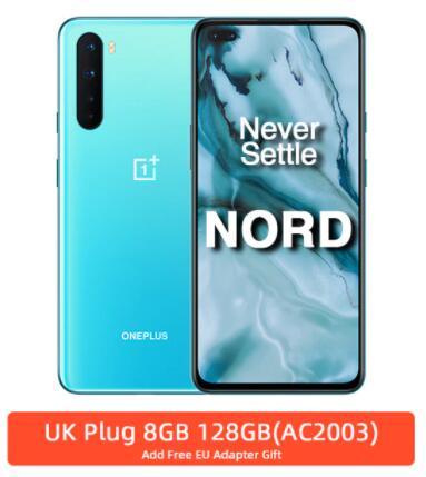 11.11 Oneplus Nord Global szary lub niebieski 8/128 GB, wysyłka z Hiszpanii, Aliexpress
