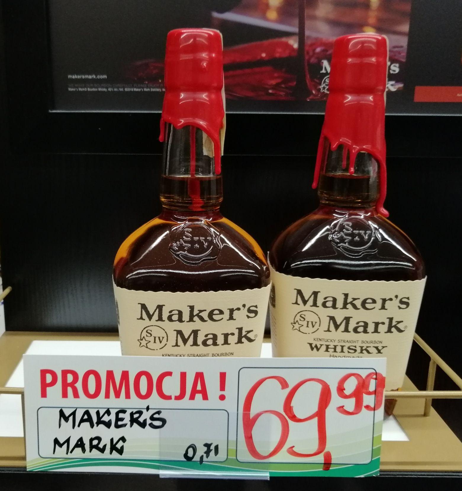 Whisky Maker's Mark 0,7l - Gagalon Zabrze