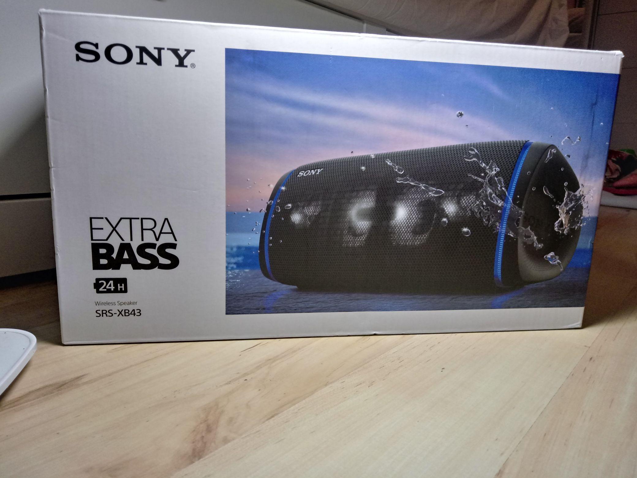 Głośnik Sony SRS-XB43(czarny)