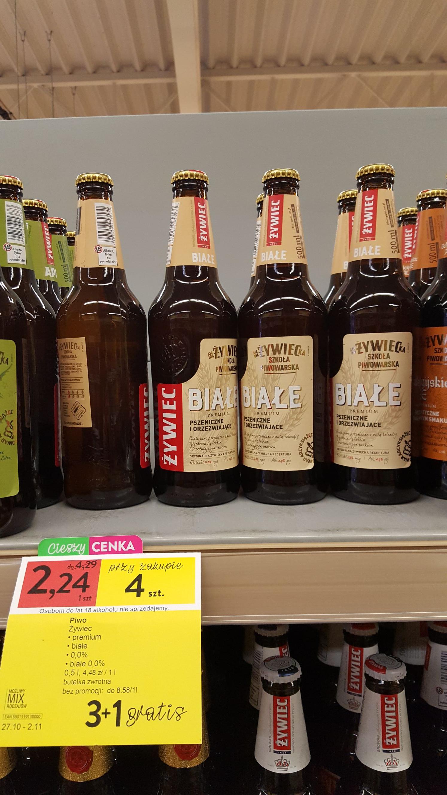 Piwo Żywiec białe @ Intermarche
