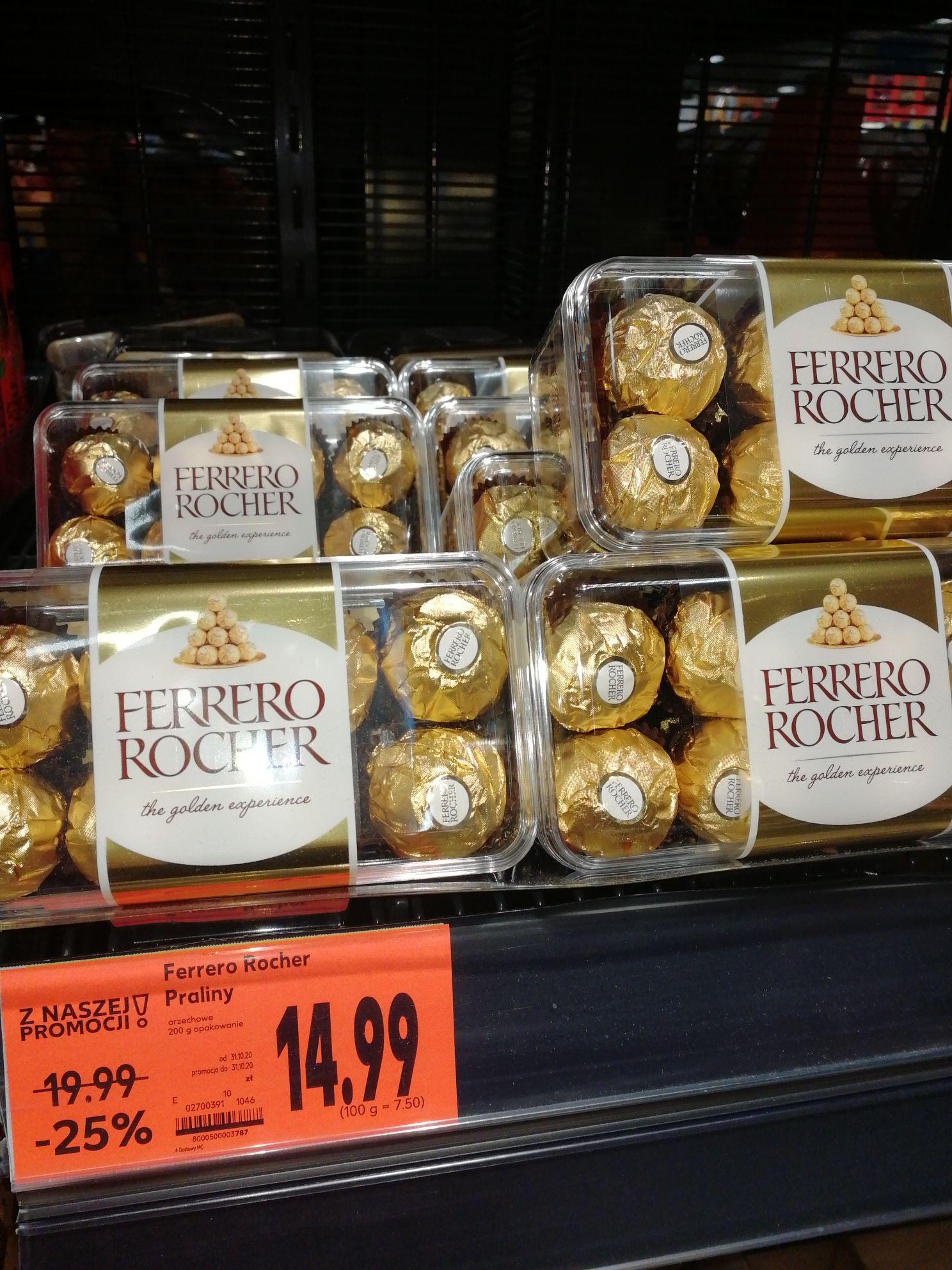 Kaufland Ferrero - znane i lubiane - niezdrowe ;)