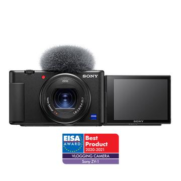 Aparat Sony ZV-1 z obiektyw ZEISS 24-70 mm i mikrofonem kierunkowym - Sony Centre