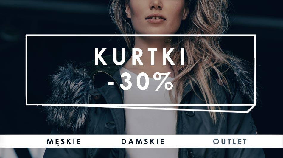 Kurtki i płaszcze -30% @ Big Star