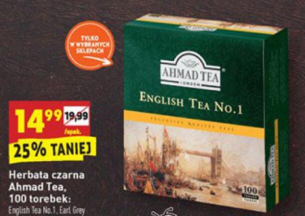 Herbata Ahmad Tea (100 torebek, 200 g)