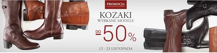 Wybrane modele kozaków -50% @ Wittchen