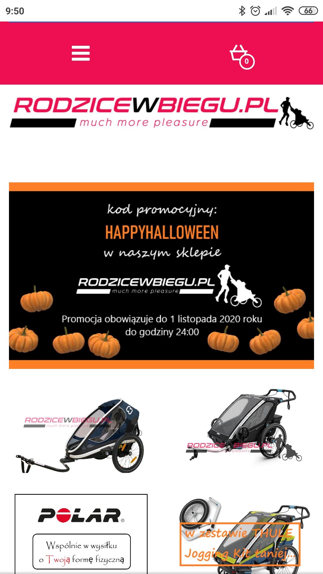 przyczepka rowerowa wózek biegowy spacerowy Thule Croozer X-Lander Hamax Burley