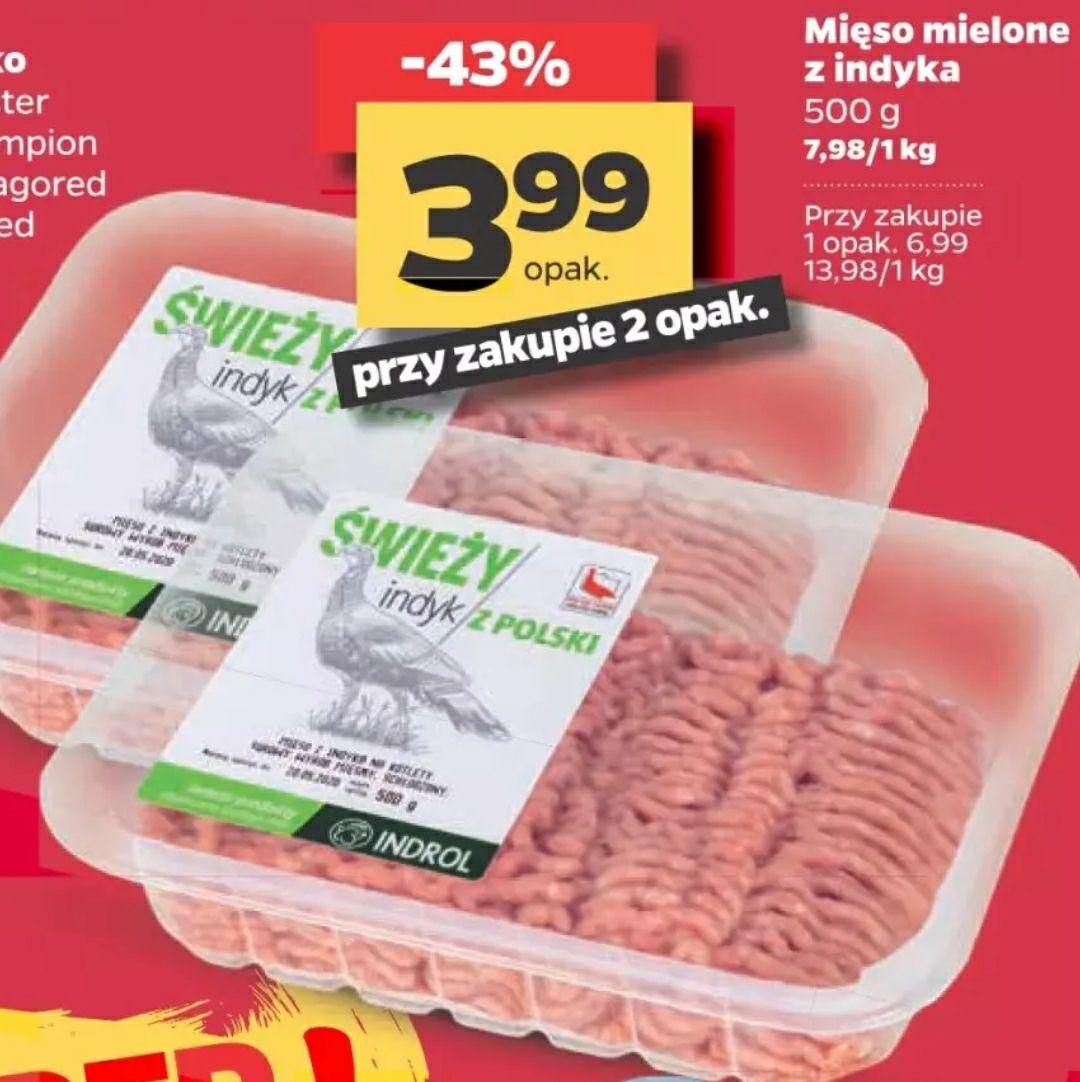 Mięso mielone z indyka w Netto