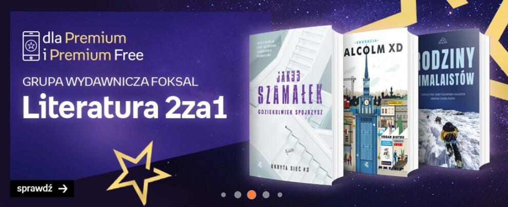 Empik książki wydawnictwa Foksal 2 w cenie 1
