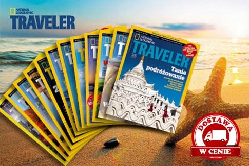 roczna prenumerata National Geographic Traveler za 72zł! (darmowa dostawa) @ Gruper