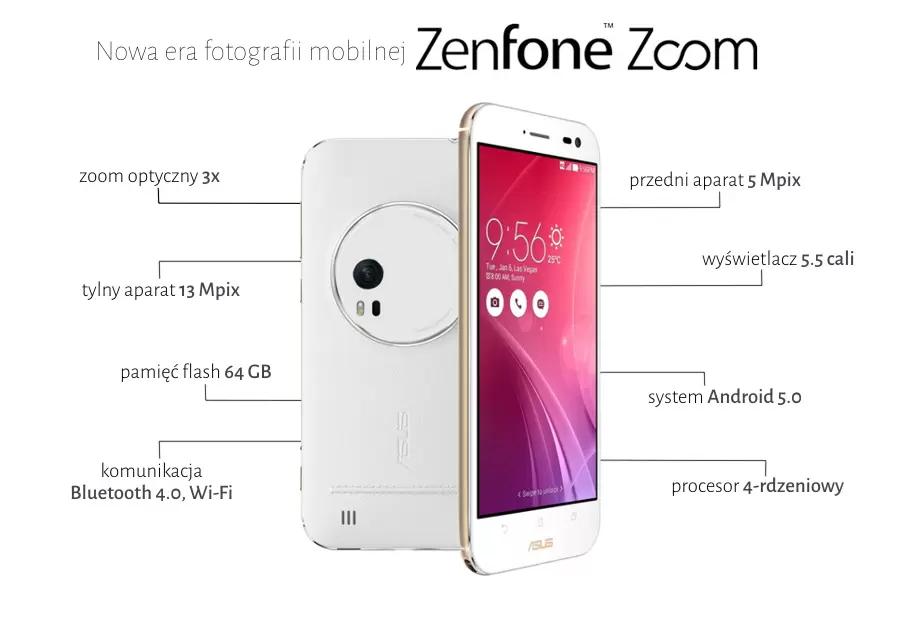 Zenfone Zoom 4/64gb #komputronik