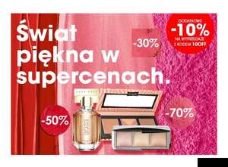 Sephora dodatkowe -10% na przecenione produkty
