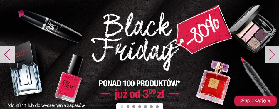 [Black Friday] kosmetyki od 3,99zł (do -80%) @ Avon