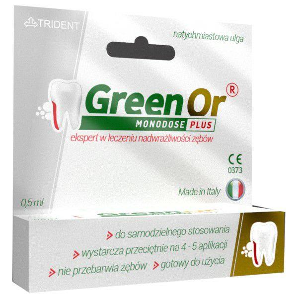 Green Or - żel na nadwrażliwość zębów