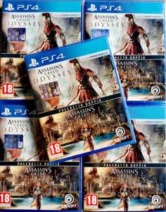 ASSASSINS CREED ODYSSEY + ORIGINS PS4 DOUBLE PACK PS4 PlayStation 4