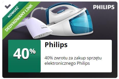 mBank 40% zwrotu za zakup sprzętu elektronicznego Philips