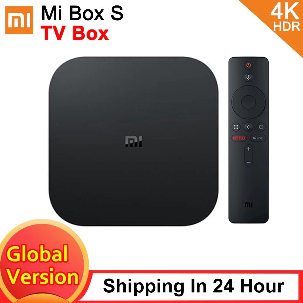Xiaomi Mi Box S Smart $46.78 !!!EU Plug!!!
