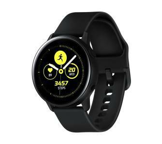 Sansung Galaxy Watch Active (czarny i różowy)