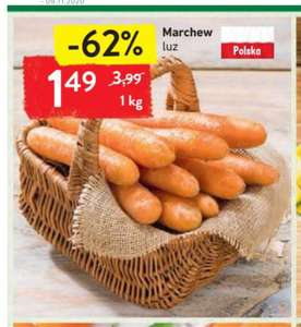 Marchew 1.49 za kg Intermarche