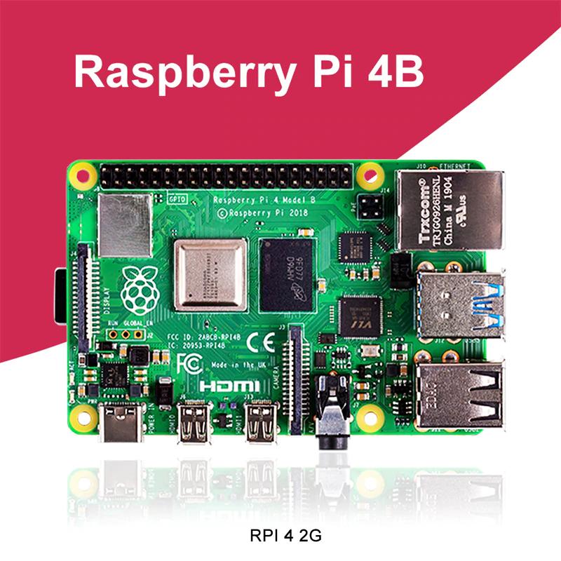 Raspberry Pi 4 Model B 2GB $37.66