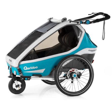 Przyczepka rowerowa Qeridoo Kidgoo 2 Sport za 2670zł @ Pink or Blue