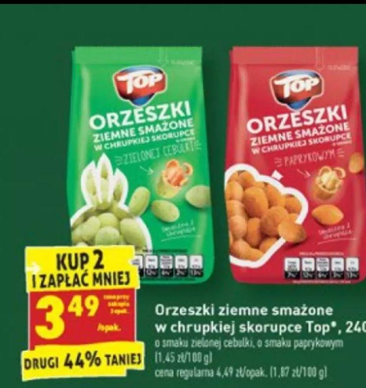 Orzeszki ziemne w skorupce Cena przy zakupie 2 szt Biedronka