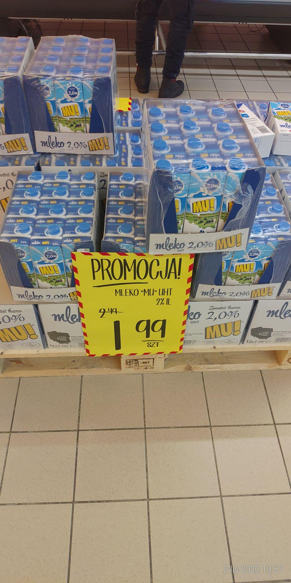 Mleko UHT 2,0% - Jan (Kęty)