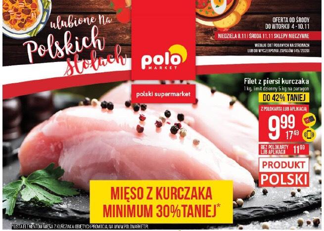 Filet z piersi kurczaka POLOmarket