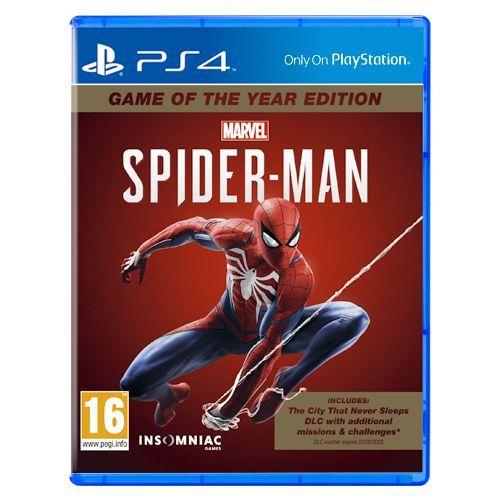 Spiderman GOTY PS4 PL
