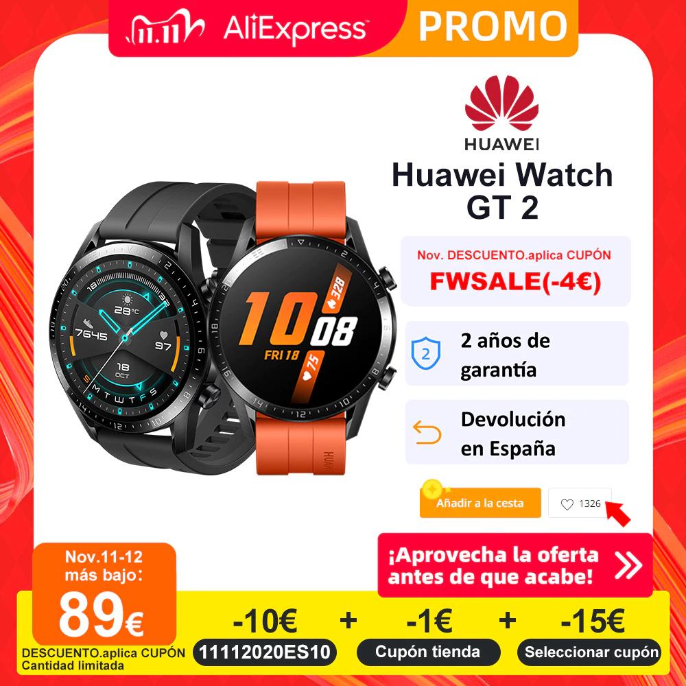 Huawei Watch GT 2 46mm z Hiszpanii @Aliexpress