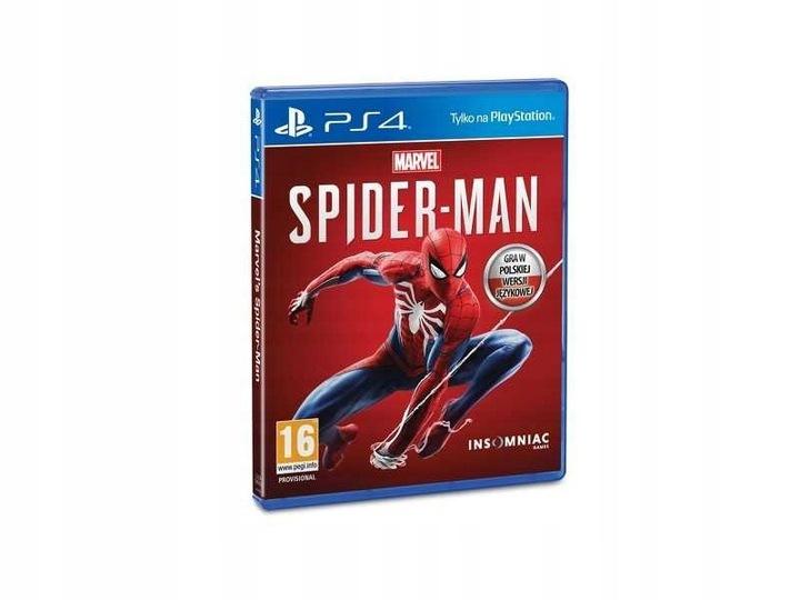 Gra PS4 Spider-Man PL @allegro