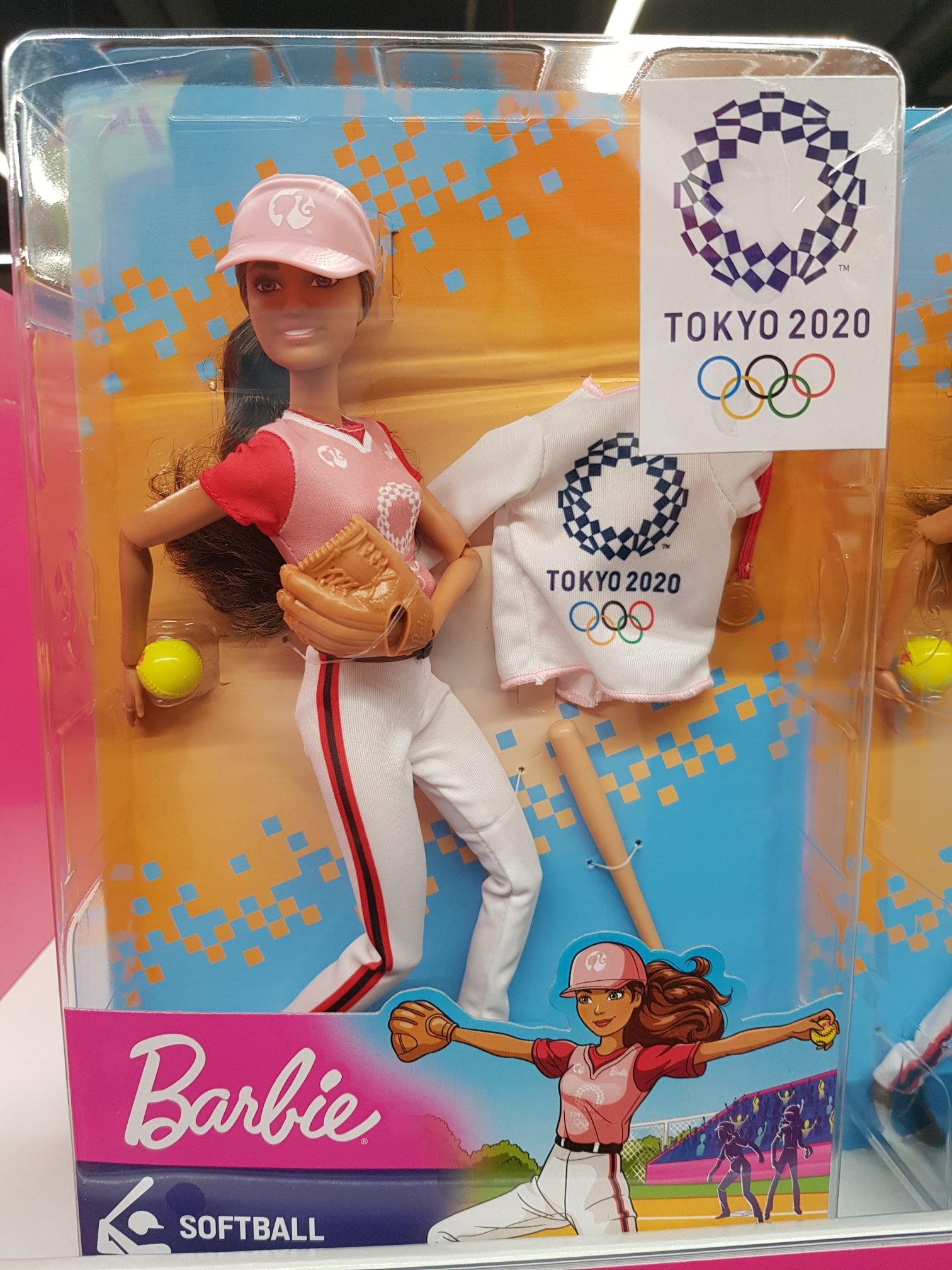 Zabawka lalka Barbie Tokyo2020