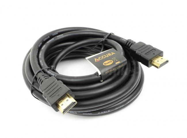 Kabel HDMI Accura ACC2105 v1.4 LAN 4.5m , o/os 0zł