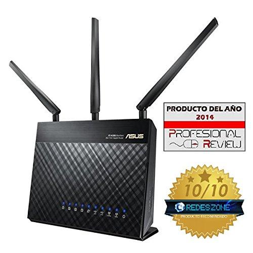 ASUS RT-AC68U AC1900 Dual-band Gigabit @Amazon.es