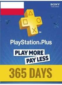 Oferta na Playstation Plus 365