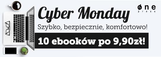 Cyber Monday: 10 ebooków po 9,90 zł @ Onepress