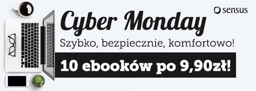 Cyber Monday: 10 ebooków po 9,90 zł @ Sensus