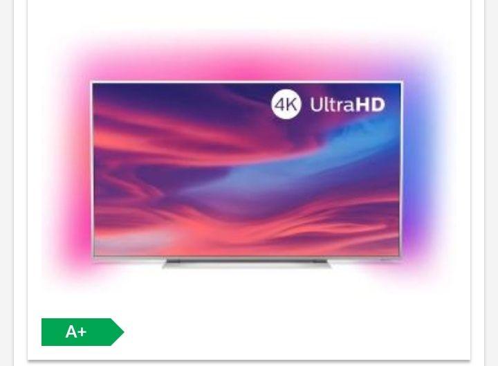 "Telewizor 65"" Philips 65PUS7354/12 4K UHD LED, Android TV, 3-stronny Ambilight, Dolby Vision/Atmos + 10 kodów Rakuten.tv"