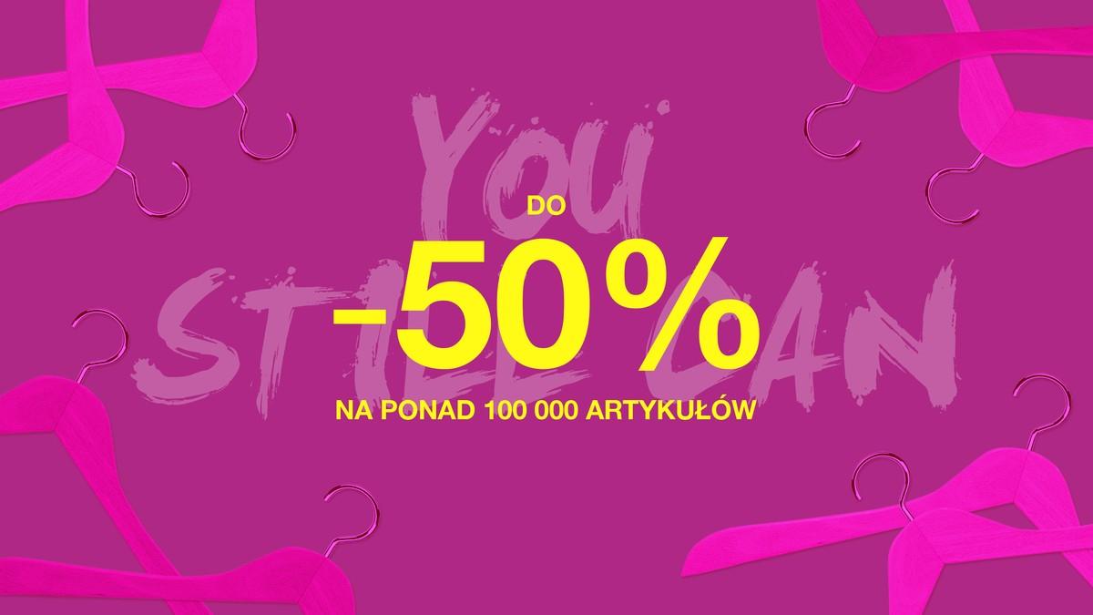 Do -50% na ponad 100 000 produktów @ Cyber Monday na Zalando