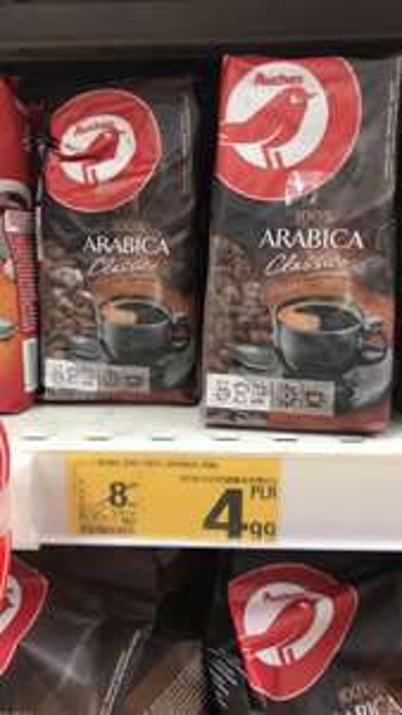 Kawa 100% Arabica Auchan