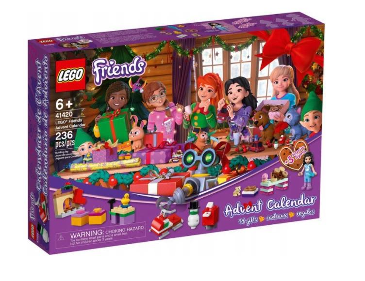 Klocki LEGO Friends 41420 kalendarz adwentowy