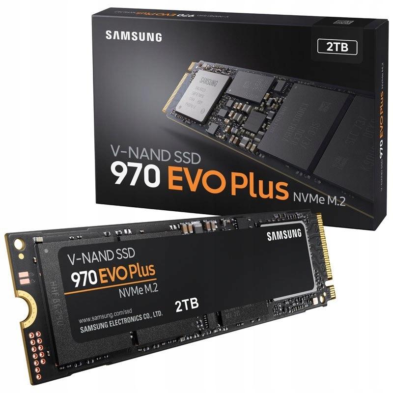 Dysk SSD Samsung 2TB M.2 PCIe NVMe 970 EVO Plus