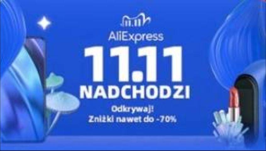Kody Aliexpress na 11.11