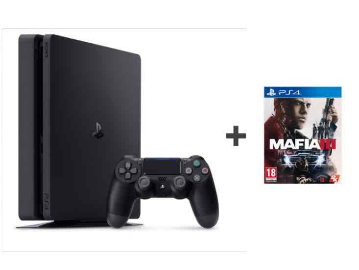 Sony PlayStation 4 Slim 1TB + MAFIA3