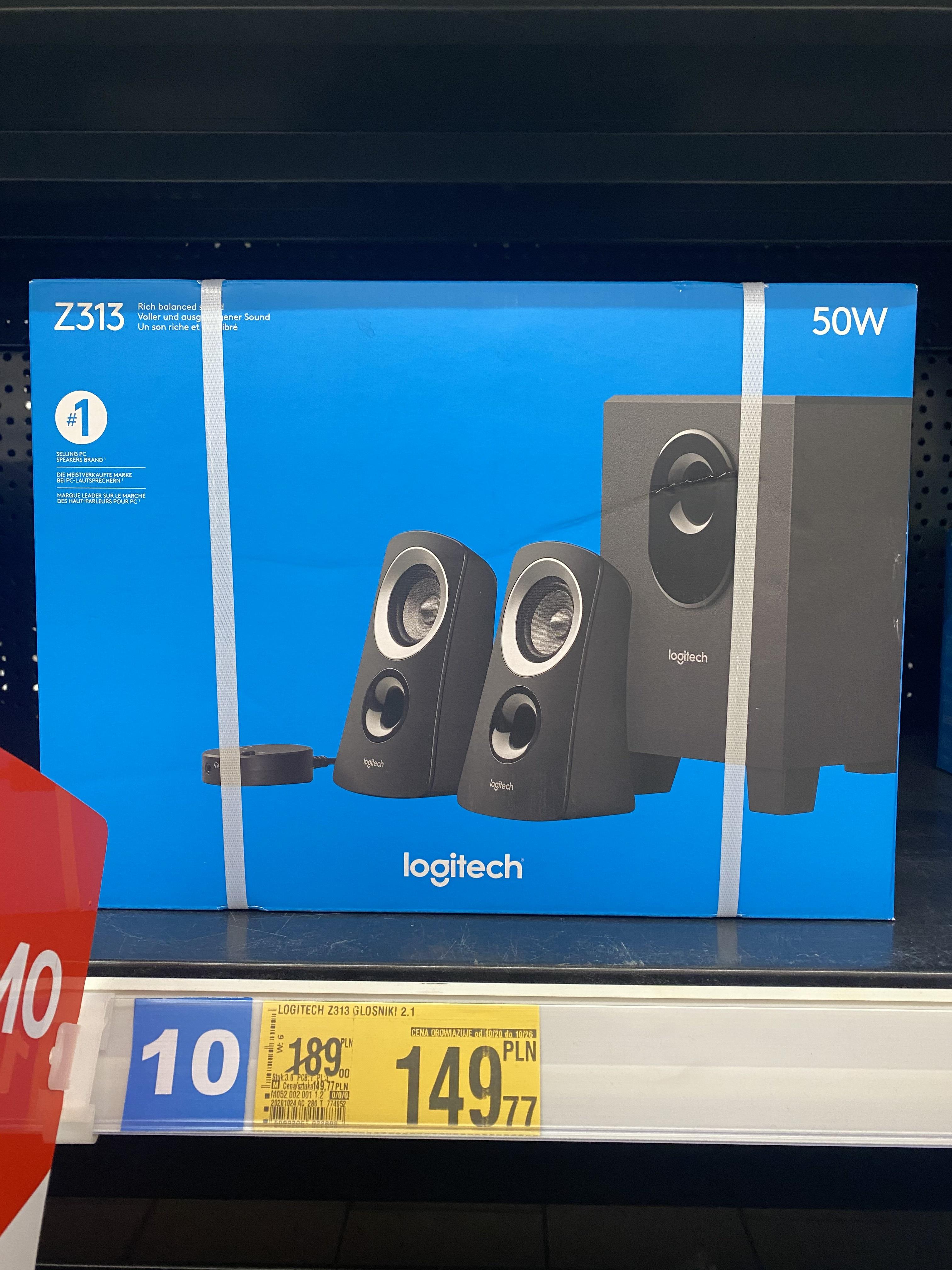 Głośniki Logitech Z313