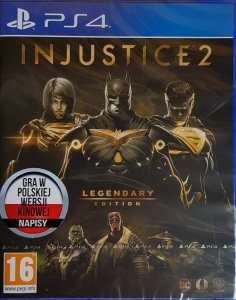 INJUSTICE 2 LEGENDARY EDITION PS4 PL + 4 monety